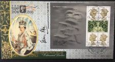 Benham 23.5.2000 Her Majesty's Stamps FDC Signed Lt COL SAM POPE, Royal Marines
