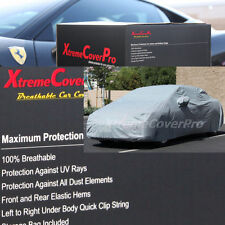 2015 CHEVROLET SONIC HATCHBACK Breathable Car Cover w/Mirror Pockets - Gray