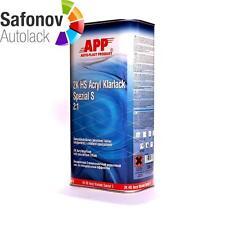 APP 2K HS Klarlack Spezial S (kratzfest mit speziellem Effekt)2:1 5 Liter 020110