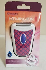 Remington WSF4810 Womens Smooth & Silky On the Go Travel Cordless Shaver