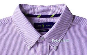 New Polo Ralph Lauren Pony Oxford Button Shirt Custom Fit