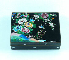 Japanese Inaba Cloisonne  Box