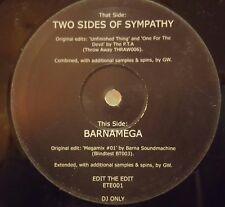 """Greg Wilson - Two sides of Sympathy / Barnamega 12"""" vinyl Breakbeat"""