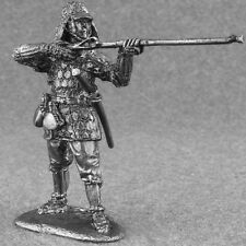 Metal Toy Soldiers Japanese Ashigaru with Arquebuse 1/32 Tin Army 54mm
