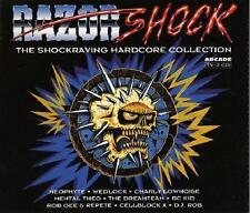 RAZOR SHOCK = Neophyte/Wedlock/Rob/TnT/Drain/Gee...=2CD= HARDCORE ACID GABBER!!