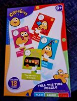 CBeebies Tell The Time Puzzle Game Toy Brand New Boxed