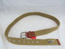 Nike Golf Medium Genuine Leather and Canvas Men's Belt