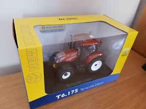UH NEW HOLLAND FIAT T6.175 TRACTOR 1/32 SCALE - TERRACOTTA 100YR ANNIVERSARY