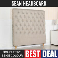 Beige Double Headboards & Footboards for Beds