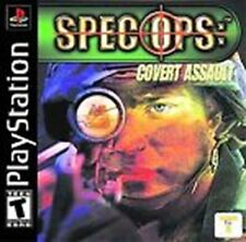CR) Spec Ops: Covert Assault (Sony PlayStation 1) Complete PS1