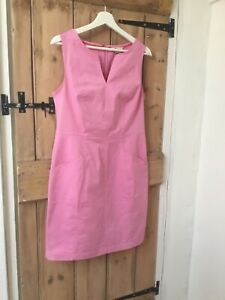 Boden pink cotton dress size 12 R