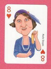 Marie Stopes Famous Women British Playing Card