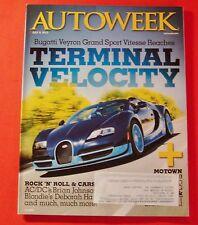AUTO WEEK MAGAZINE JULY 9, 2012...BUGATTI VEYRON GRAND SPORT VITESSE
