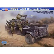 Hobbyboss 82449 1:35th escala Land Rover rsov con lanzagranadas Mk 19