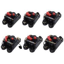 12V-24V Portafusibles stereo reemplazo coche video de restablecimiento manual Interruptor de circuito