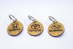 Subaru / Toyota / Mitsubishi / Honda Keychain - Car Logo - Japanese Car