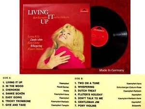 LP Bert Kaempfert: Living It Up  (Polydor 46 399) D