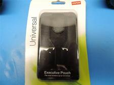 Staples Universal Leather Smartphone Executive Case Pouch for Screens up to 4.5""