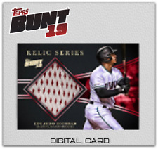2019 RELIC SERIES BASE EDUARDO ESCOBAR Topps Bunt Digital Card