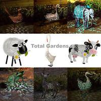 Smart Solar Garden Silhouette Solar Lights Ornamental Animal LED Lights NEW