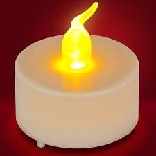 Bougie Chauffe-Plat LED Lumière Vacillante Jaune Orangé