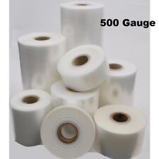 More details for 168m layflat polythene poly tubing tube plastic packaging 500g *all sizes & qtys