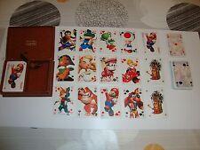 coffret de 2 jeux de 54 cartes NITENDO : humoristique. très rare.