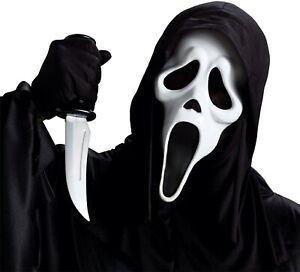 Scream Mask ~ Ghostface ~ Scream Killer Officially Licensed Movie Mask NEW