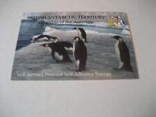 BRITISH ANTARCTIC TERRITORY 2006  PENGUINS OF THE ANTARCTIC  12X AIRMAIL POSTCAR