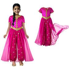 Girls Costume Princess Fancy Dress Up Party Outfits Halloween Arabian