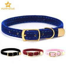 Cat Collars Puppy Dog Collar Small Dogs Kittens Solid Soft Pet Collar Chihuahua