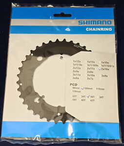 Y1RP98070 Shimano DEORE Chainring FC-M617 36T (AY)