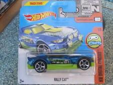 Hot Wheels 2017 # 305/365 RALLY gato azul HW digital Circuito NUEVO FUNDICIÓN