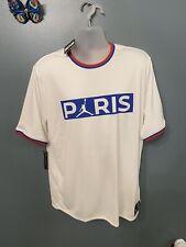 Original Nike Paris Saint Germain x Air Jordan Poly Top XL soccer futbol Neymar