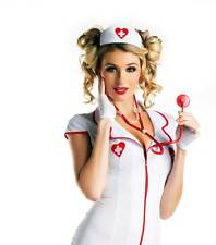 Sexy Checkup Doctor Nurse Hat & Stethoscope Set Costume Accessory