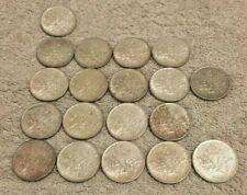 lot 19 pièces argent  5 francs