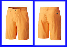 Columbia ~ Washed Out Men's Modern Classic Shorts Size 36- Apricot/Koi