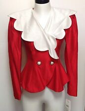 Fabulous Vintage 90s Scalloped Blazer Francisco NWT Medium Minnie Mouse