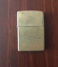 Gold Tone Zippo Lighter