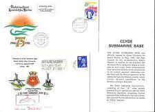 NEDERLAND ONDERZEEBOOT SUBMARINE 1972/81  OZB S 809 = ZEEHOND =2 x CV + INFO.