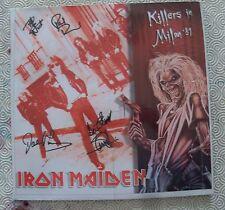 "IRON MAIDEN ""KILLERS IN MILAN '81"" 2LP COLOURED VINYL LIVE TEATRO TENDA 1981"