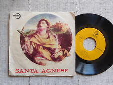 Santa Agnese - Testo di Anna Maria Romagnoli -  45 giri