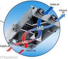 "New Vents-US Dual HRV/ERV media Energy Heat Recovery Ventilator (TRV)  5"" Duct"