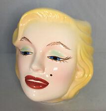 1996 Marilyn Monroe FACE Mug CLAY ART no box