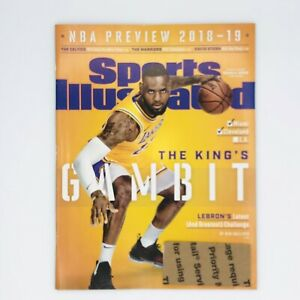 Lebron James Sports Illustrated - NBA Preview 2018-2019 /Oct 2018 - Double Issue