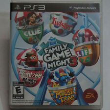 Hasbro Family Game Night PS3 PlayStation 3 | Excellent Condition | Tested