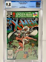 Uncanny X-Men #152 CGC 9.8 1981 Emma Frost and Sebastian Shaw Appearance
