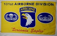 101st Airborne Division Screamin Eagles Flag 3' X 5' Indoor Outdoor Banner