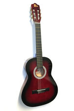 Rio 3/4 Junior Beginner Classical Acoustic Guitar Pack Package Kit Outfit Red