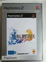 Final Fantasy X (PS2) - Platinum (Francais Edition) [New but NOT Sealed]